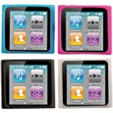 iEssentials Skins for iPod nano 6G, 4 Pack