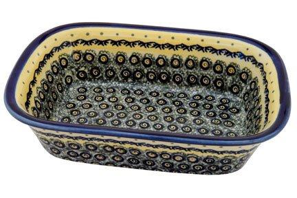 Polish Pottery Renaissance Loaf Baker