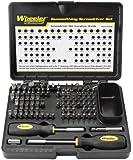 Wheeler 89-Piece Deluxe Gunsmithing Screwdriver Set, Black/Yellow