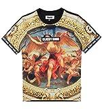 Snob Louvre Painting-t Shirt for Men & Women Urban Street Korean Fashion(medium, Multi Color)
