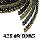 JPR MX Series Dirt Bike Drive Chains Offroad 428 MX 116 Link