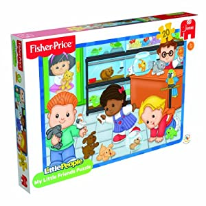 Fisher-Price Little People Jigsaw Puzzle (20 Pieces)