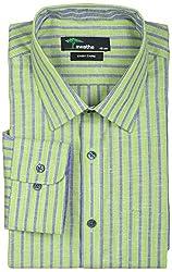 SWATHE Men's Formal Shirt (6123-2-40, Multi-Coloured)