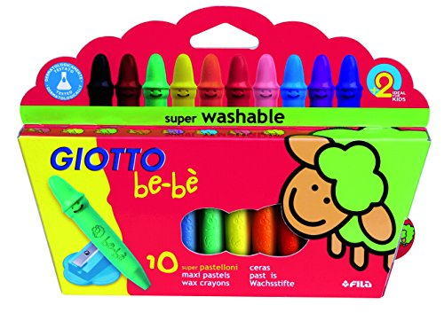 Giotto Vibrant and Smooth Crayons/Pastels (10pcs)
