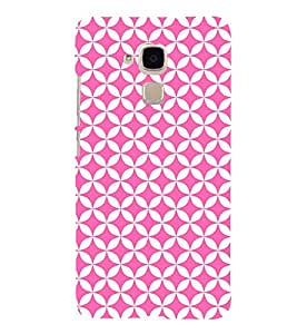 Triangle Art Pattern 3D Hard Polycarbonate Designer Back Case Cover for Huawei Honor 5C : Huawei Honor 7 Lite : Huawei GT3