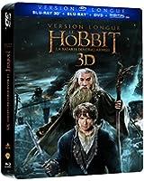 Le Hobbit : La bataille des cinq armées (Version Longue) [Steelbook(TM): Edition limitée - Blu-ray 3D + Blu-ray + DVD]