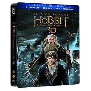 Le Hobbit : La bataille des cinq armées (Version Longue) [Steelbook(TM):