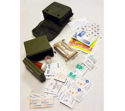 Tactical First Aid Kit: Elite 1st Aid First Aid Kit, Individual (IFAK) (Olive Drab), ALICE Compatible F102C from Elite 1st Aid