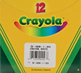 Crayola Crayons-White 12 Pkg