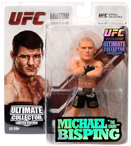 Round 5 UFC Ultimate Collector Series 13.5 LIMITED EDITION Action Figure Michael Bisping