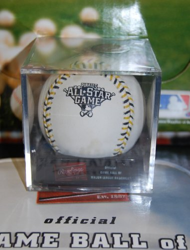 Details about Rawlings ASBB06 2006 All-Star Game Official Pirates MLB ROMLB 06 Ball w/Cube