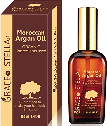 Moroccan Argan Oil for Hair and Face - 3.4 Oz (100ml)