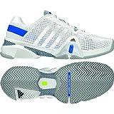 Adidas Men's Adipower Barricade 8 Tennis Shoe-Solar Blue/Running White/Night Shade
