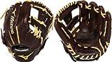 Mizuno GFN1176B1 Franchise Right Handed Throw Baseball Fielders Mitt, Coffee/Cork, 11.75-Inch