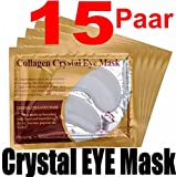 15 Paar Collagen Crystal Eye Mask - Anti-Falten Augenpads...