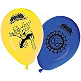 Ultimate Spiderman Latex Party Balloons, pk8