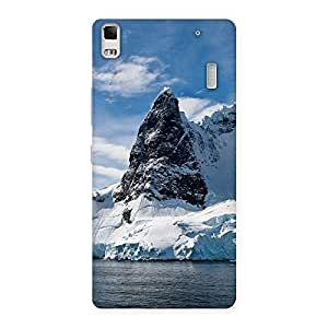 Enticing Beach Freez Hill Back Case Cover for Lenovo K3 Note