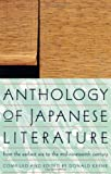 Anthology of Japanese Literature from the Earliest Era to the Mid-Nineteenth Century (UNESCO Collection of Representative Works: European)