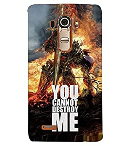 PRINTSWAG ROBOT Designer Back Cover Case for LG G4