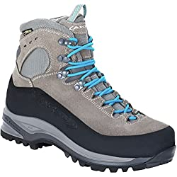 AKU Superalp GTX Backpacking Boot - Women's Light Grey/Turquoise
