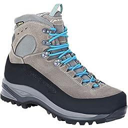 AKU Superalp GTX Backpacking Boot - Women\'s Light Grey/Turquoise, 10.0