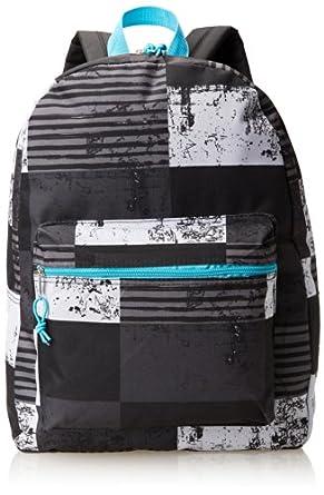 Trailmaker Big Boys' Backpack, Surf w/Pencil Case, Black Multi, One Size