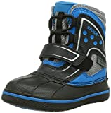 Crocs Allcast Waterproof Gs, Unisex Kids' Ankle Boots, Black (Black/Ocean), 13 Child UK (30/31 EU)