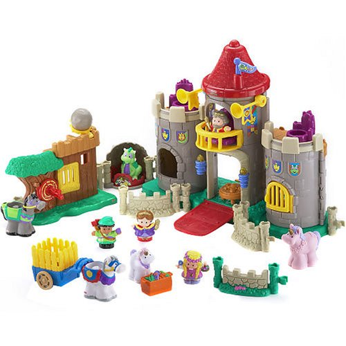 Amazon.com: Little People: Lil' Kingdom Castle Set