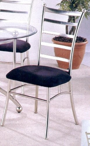 black friday contemporary retro silver metal dining chair chairs with