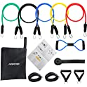 MORECOO Resistance Band 11-Piece Set