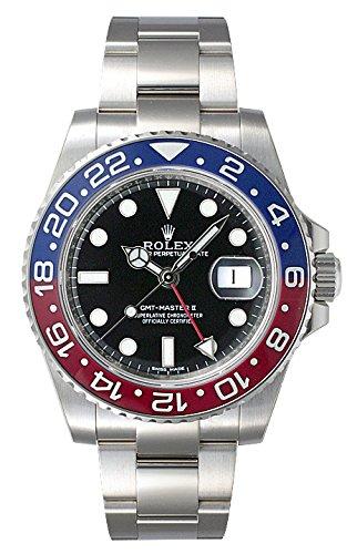 (ロレックス) ROLEX 腕時計 GMTマスターII 116719BLRO ブラック メンズ [並行輸入品]