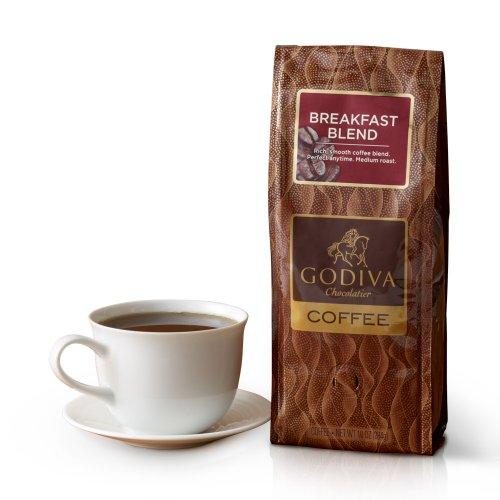 New Godiva Chocolatier, Breakfast Blend Coffee