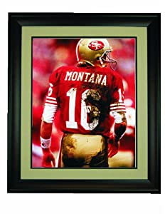 Joe Montana Framed 16x 20 Photo by Champion
