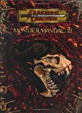 Dungeons & Dragons Monster Manual III (0786934301) by Wizards of the Coast