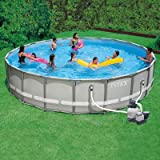 Intex Ultra Frame Swimming Pool - 20 Ft x 52 In - 1600gph Filter