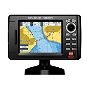 Standard Horizon CP190i 5-Inch color LCD Chartplotter with Internal GPS by Standard Horizon
