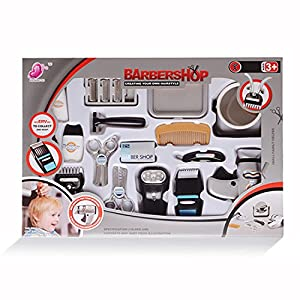 Barber Shop Games : Amazon.com: WPS Play Accessories Barber Shop Salon Hairstyle Play Set ...
