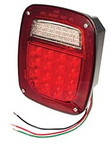 Grote Hi Count LED Box Lamp Red RH Without Sidemaker G5082