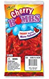 Pioneer National Latex Cherry Bomb 100 Count Water Balloons, Dark Red