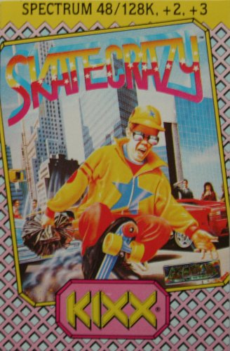 Kixx - Skate Crazy Sinclair ZX Spectrum 48K/128K/+2/+3 Game