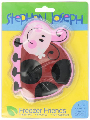 Stephen Joseph Freezer Friends Ladybug Cold Pack