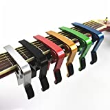 Liroyal Red Single-handed Guitar Capo Quick Change