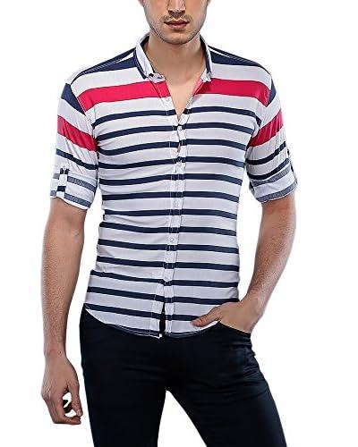 Philip Loren Camicia Uomo [Bianco/Blu]