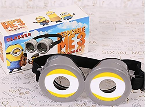 Despicable Me Minions 3D Goggle Glasses for Child/Adult