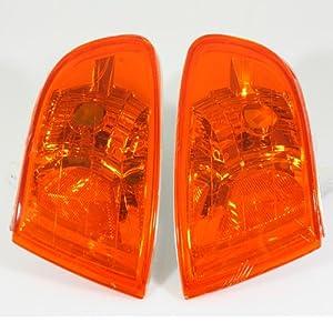 92-95 Honda Civic EG Coupe/Hatchback JDM Euro Amber Corner Signal Lights
