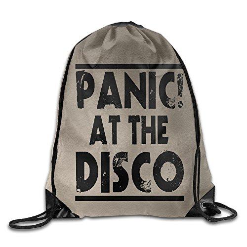 AK79 Superb Panic At Logo Disco Cinch Pack White