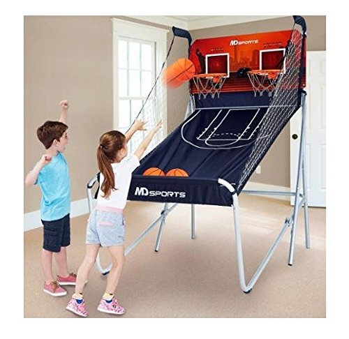Cheapest Price! Fun MD Sports Premium 2-Player Basketball Game