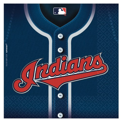Cleveland Indians Baseball - Lunch Napkins Party Accessory