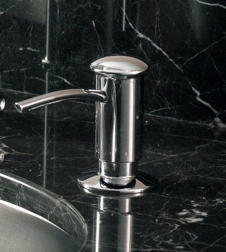 kohler k 1895 c cp soap or lotion dispenser with kitchen cabinets baltimore maryland kitchen cabinets rockville maryland
