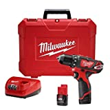 Milwaukee 2407-22 M12 3/8' Drill/Driver Kit